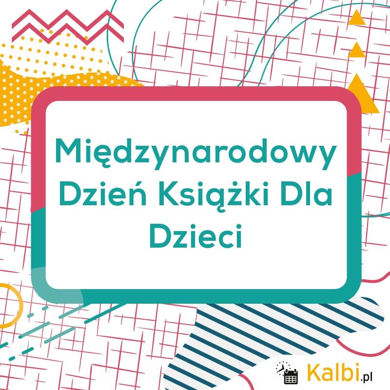 Międzynarodowy Dzień Książki Dla Dzieci 2020 - internetowy ...