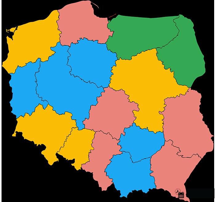 Ferie w Polsce