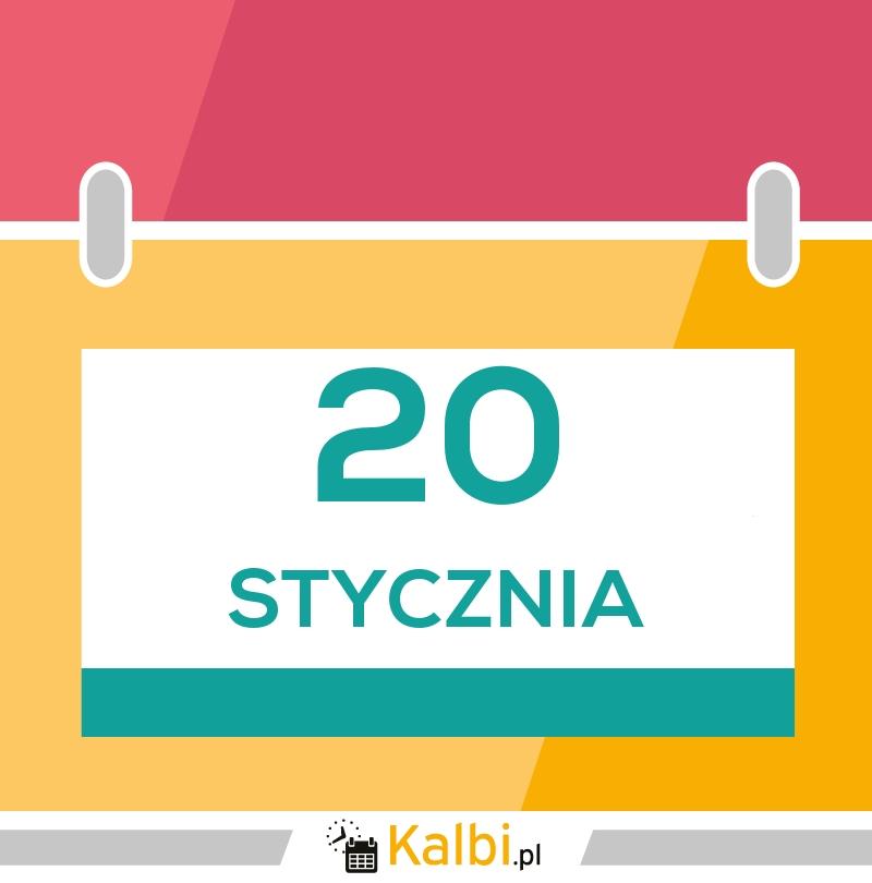 20 Stycznia 2019 Kartka Z Kalendarza Kalbi