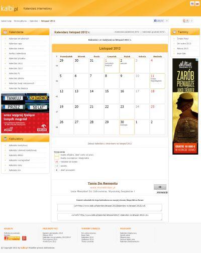 Kalendarz Luty 2019 R Kalbipl